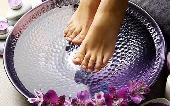 60minutová masáž nohou pro dokonalý relax