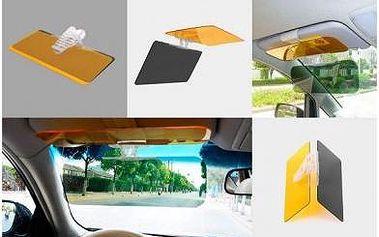 Noční a denní clona do auta. Pohodlná a bezpečná jízda při silném sluníčku!
