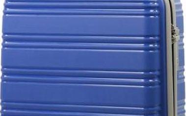 REAbags Cestovní kufr ROCK TR-0125/3-50 PP modrá