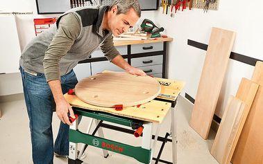 Opravdu stabilní pracovní stůl Bosch do garáží a dílen s nosností 200 kg