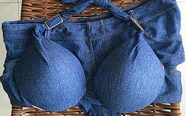 Push-up bikiny jeans - 3 velikosti