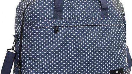 Member's Cestovní taška SB-0036 bílá/modrá