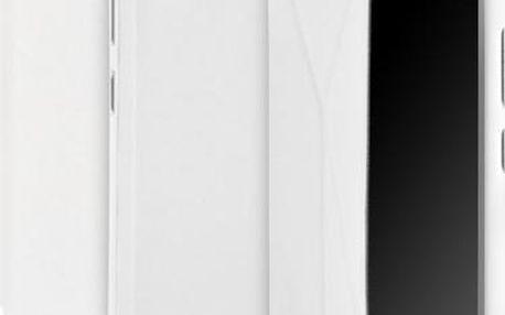 Pouzdro na mobil flipové GoGEN pro Lenovo VIBE Z2 (GOGCASEVIBEZ2W) bílé
