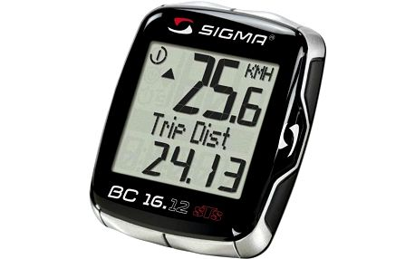 Cyklo počítač Sigma Sport BC 16.12 STS C3 černý
