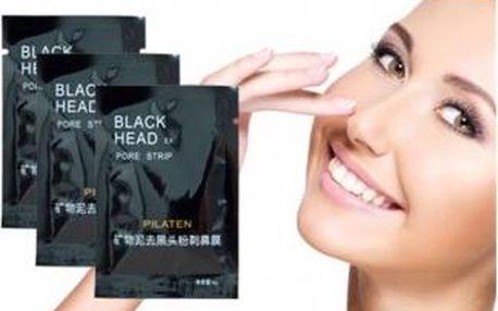 Vysoce efektivní korejská maska na čištění pórů a černých teček. Balení obsahuje 10 ks!