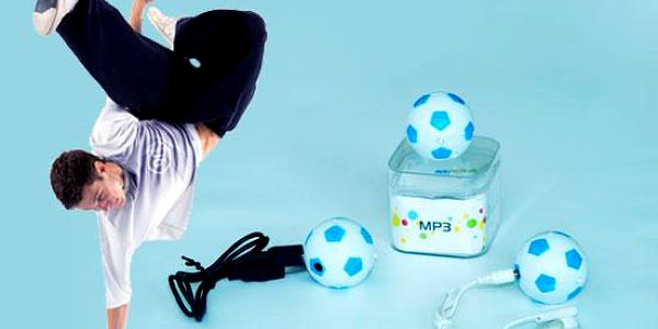 MP3 fotbalový míč
