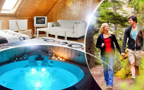 Vysočina na 3 až 8 dní pro dva v apartmánu s polopenzí a privátní saunou a vířivkou