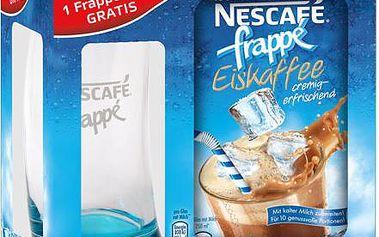 NESCAFÉ Frappé ledová káva 10 x 20g + sklenice zdarma