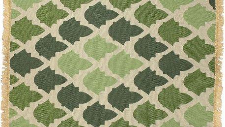 Koberec Baklava Green, 80x150 cm