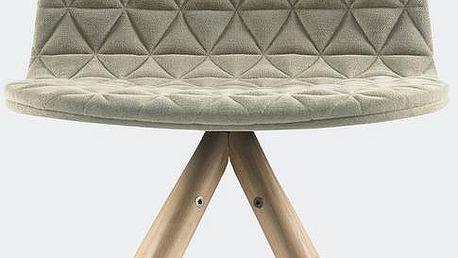 Židle Mannequin, krémová - doprava zdarma!