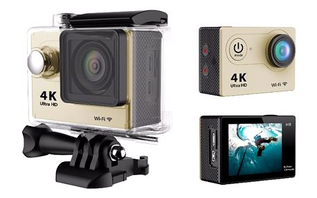Frist digitální outdoor kamera Full HD s voděodolným krytem