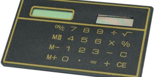 Solární mini kalkulačka
