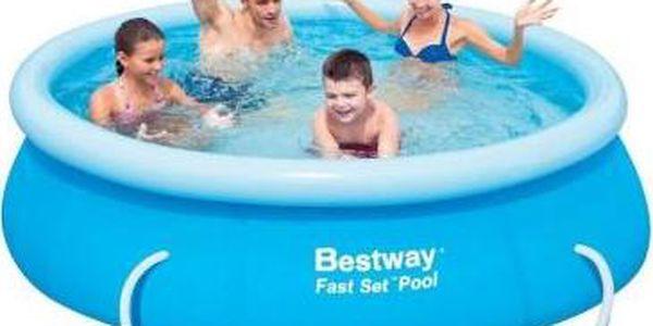 Bestway Bazén 2,44 x 0,66m kartušová filtrace
