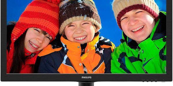 """Philips 243V5LHAB - LED monitor 24"""" - 243V5LHAB/00"""