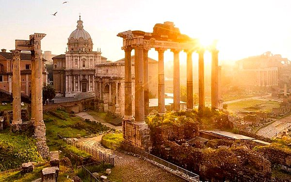 Řím, Vatikán, Florencie, Benátky + ostrov Lido