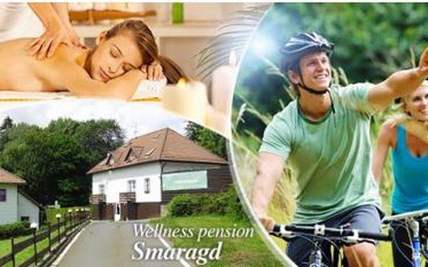 Relaxační pobyt pro 2 osoby na 3 dny s polopenzí a wellness procedurami! Pension Smaragd - Český les