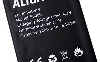 Aligator baterie 2200 mAh Li-Ion pro S5080 DUO LTE (Bulk)