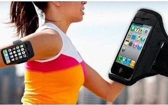 Sportovní pouzdro na chytré telefony. Pouzdro je vhodné pro telefony Iphone, Samsung a další.