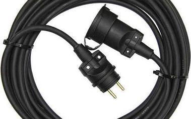 Kabel prodlužovací EMOS 1x zásuvka, 50m černý
