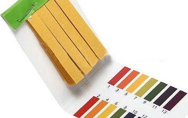 Lakmusové papírky pro identifikaci pH - 80 kusů - poštovné zdarma