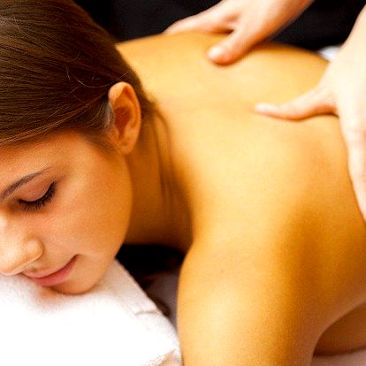 50minutová masáž pro zdraví i odpočinek