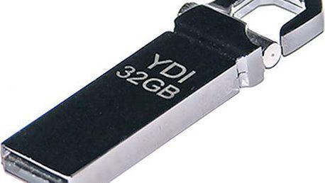 USB 32 GB, kovový elegán pro přenos dat