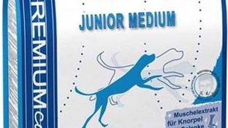 Granule Bosch Junior Medium 15 kg, pro štěňata a rostoucí psy středně velkých ras + Doprava zdarma