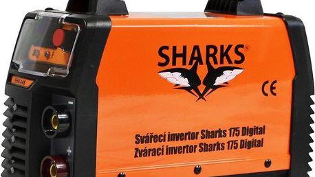 Svářecí invertor Sharks Digital, na elektrody, přísluš.