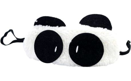Škraboška na spaní - panda - dodání do 2 dnů