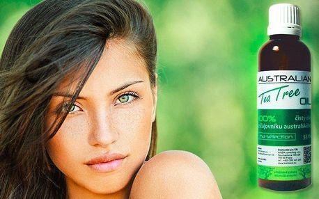 Přírodní Tea Tree Oil na opary, akné i odřeniny