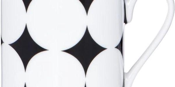 BLACK & WHITE Espresso šálek kruhy velké