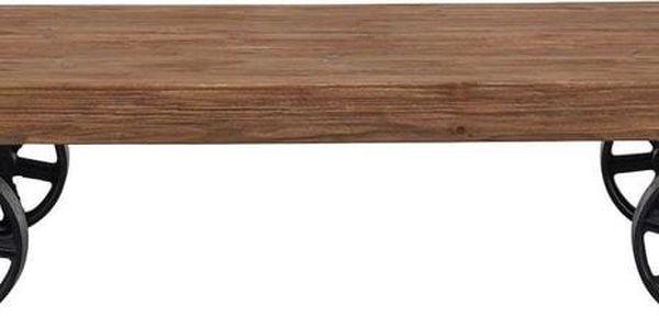 WAGON Konferenční stolek na kolečkách