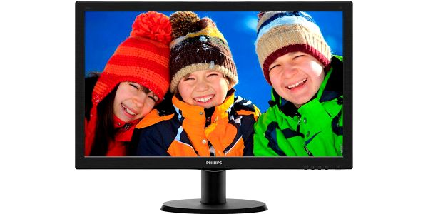 "Philips 243V5LHAB - LED monitor 24"" - 243V5LHAB/00"