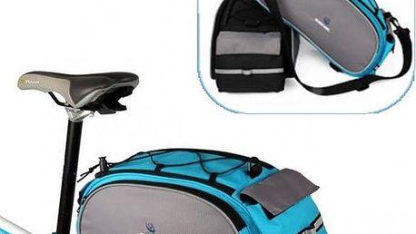 Praktická brašna na nosič jízdního kola