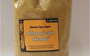 Přírodní třtinový cukr Bio Nebio 1 kg