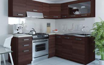 Kuchyňská linka TORINO LIDIA L 360 cm - dub Glamour