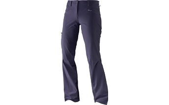 Salomon Wayfarer Pant W Nightshade Grey 36/R