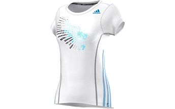 Adidas Graph Tee Women bílá M