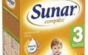 SUNAR complex 3 banán nové balení 600 g