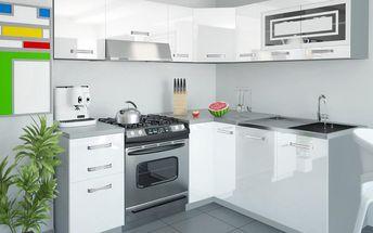 Kuchyňská linka INFINITY LIDIA L 360 cm - bílá barva