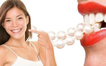 Zářivý úsměv plný bílých zoubků - 2x 20min. bělení zubů + 10min. remineralizace zubní skloviny. Dopřejte si speciální a šetrnou metodou pomocí kvalitního francouzského certifikovaného přístroje. Jedná se o absolutně bezbolestnou a efektivní metodu.
