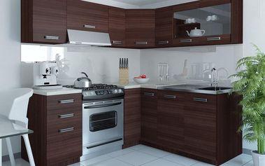 Kuchyňská linka TORINO LIDIA 360 cm - dub Glamour