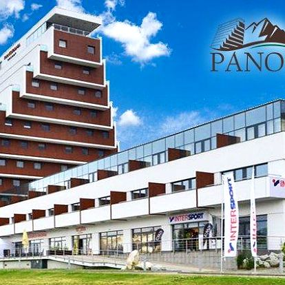 3–7denní pobyt v Panorama Resort Apartments**** ve Vysokých Tatrách pro 2 až 4 osoby