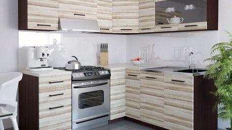 Kuchyňská linka TORINO LIDIA 360 cm - akát Treviso