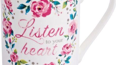 Hrnek Listen to Your Heart, 340 ml