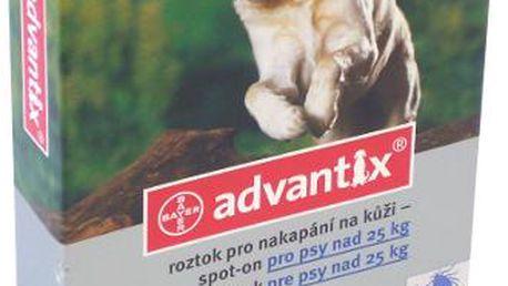 ADVANTIX Spot-on pro psy nad 25 kg 1 x 4 ml