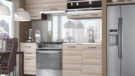 Kuchyňská linka TORINO 180 cm - akát Treviso