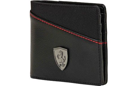 Puma Ferrari Ls Wallet M Black