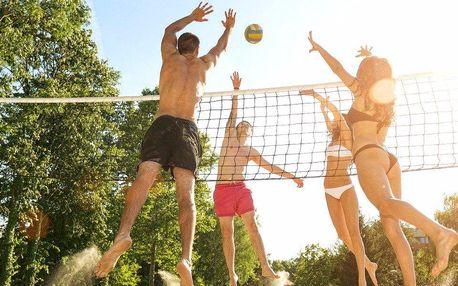 Hurá na beach volejbal: 2 hodiny prima hry