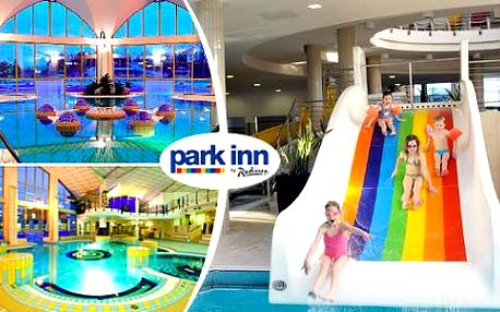 Maďarský wellness hotel Park Inn**** s polopenzí a neomezeným vstupem do vodního světa!
